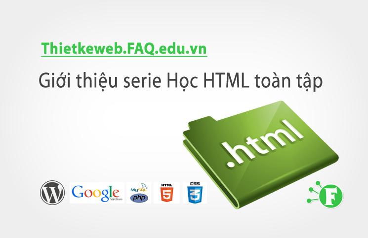 Bài 4. Cấu trúc một tài liệu web bằng HTML