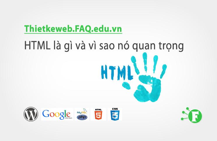 Bài 2.  HTML là gì và vì sao nó quan trọng
