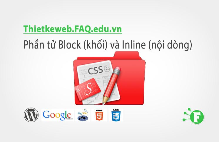 Bài 8. Phần tử Block (khối) và Inline (nội dòng)