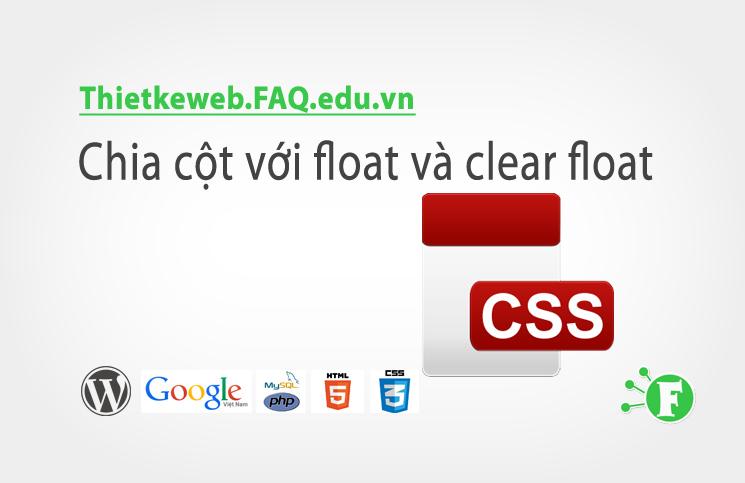 Bài 14. Chia cột với float và clear float