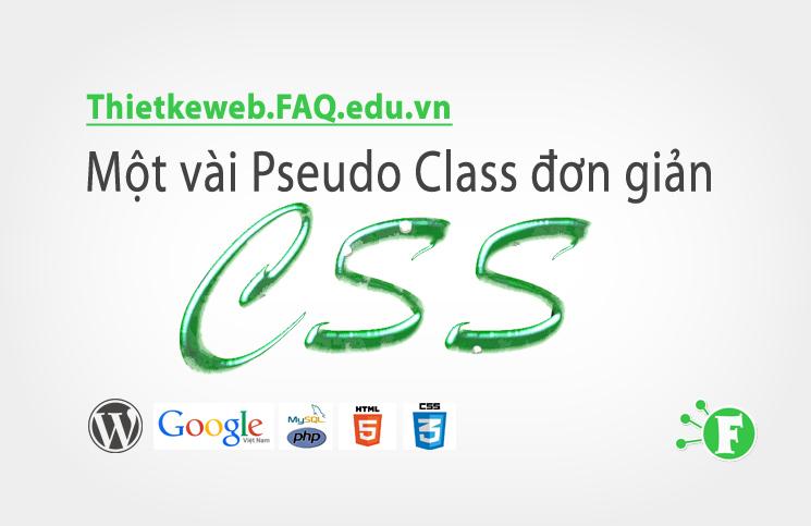 Bài 19. Một vài Pseudo Class đơn giản